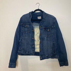 Levi's   Bleached Denim Jacket